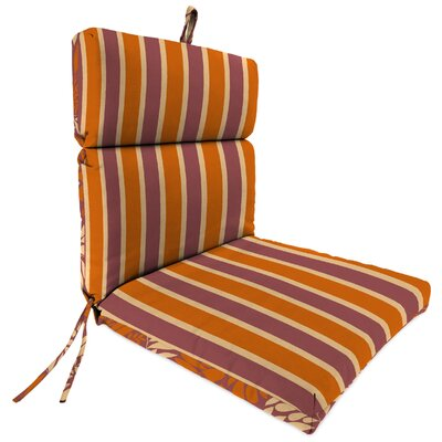 Brooke Reversible Dining Chair Cushion