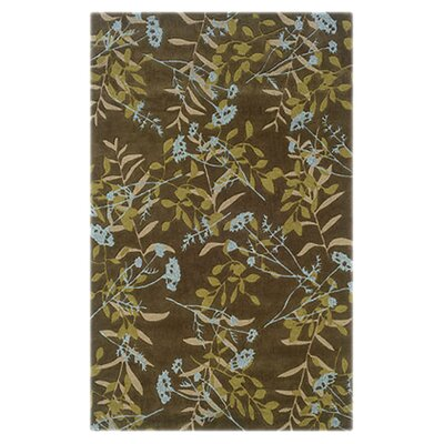 Columban Hand-Tufted Blue Area Rug Rug Size: 8 x 10