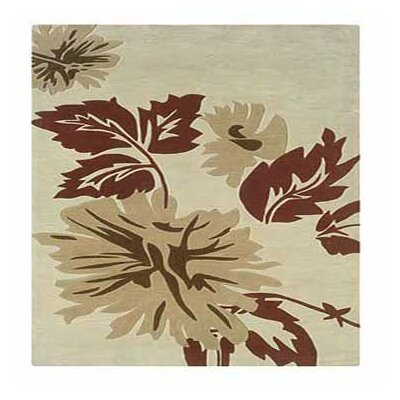 Columban Hand-Tufted Cream/Beige Area Rug Rug Size: Rectangle 8 x 10
