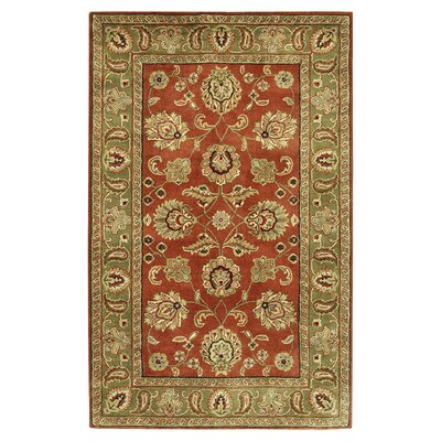 Stanford Dark Rust Rug Rug Size: Rectangle 5 x 8