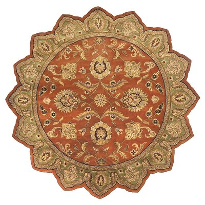 Stanford Dark Rust Rug Rug Size: Novelty 8 x 8