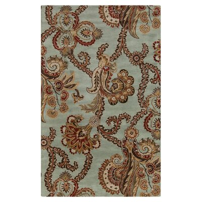 Schueller Seafoam Area Rug Rug Size: Rectangle 33 x 53