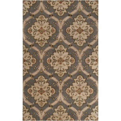 Stanford Gray Rug Rug Size: Rectangle 4 x 6