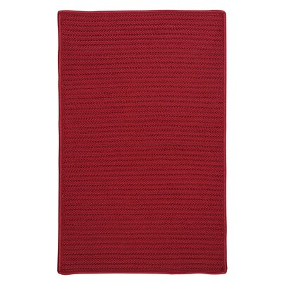 Glasgow Red Indoor/Outdoor Area Rug Rug Size: Square 12