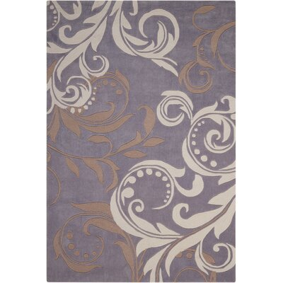 Coventry Floral Area Rug Rug Size: Rectangle 5 x 76