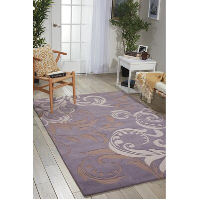 Contour Floral Hand-Tufted Area Rug