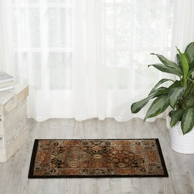 Ravens Brown/Black Area Rug Rug Size: 311 x 511