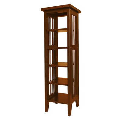 Goldia 34 Etagere Bookcase Finish: Cherry