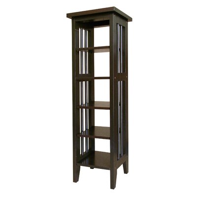 Goldia 34 Etagere Bookcase Finish: Espresso