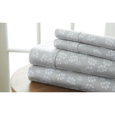 Perley Wheat Sheet Set Color: Gray, Size: King