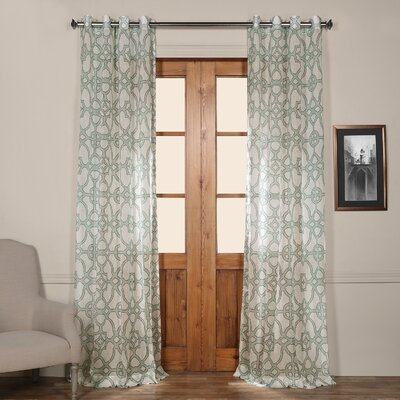 Hugh Single Curtain Panel