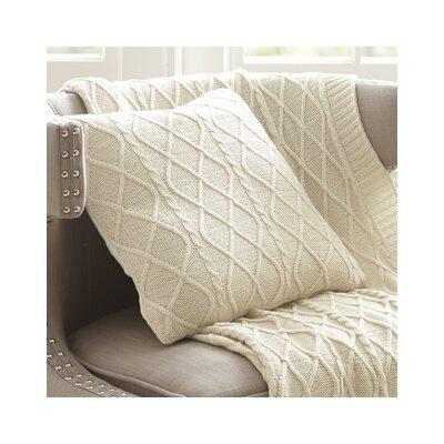 Regents Decorative Cotton Throw Pillow Color: Oatmeal