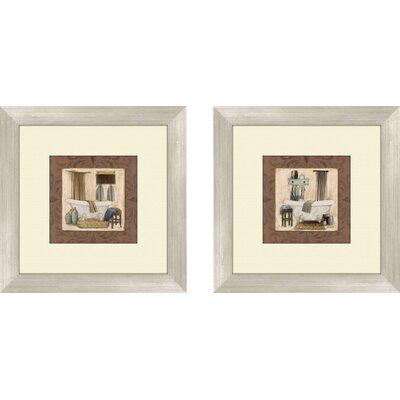 'Do not Disturb' 2 Piece Framed Painting Print Set