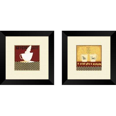 'Chef' 2 Piece Framed Graphic Art Set