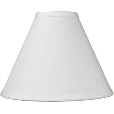 11 Linen Empire Lamp Shade Color: Light Oatmeal