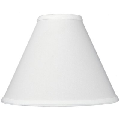 11 Linen Empire Lamp Shade Color: White