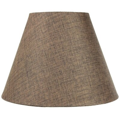 12 Fabric Empire Lamp Shade Color: Chocolate