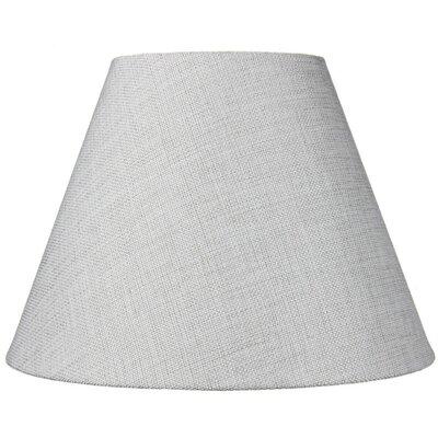 12 Fabric Empire Lamp Shade Color: Khaki