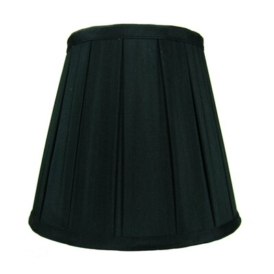 8 Shantung Empire Lamp Shade Color: Black