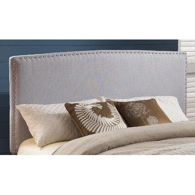 Harmonsburg Upholstered Panel Headboard Size: Twin, Upholstery: Pewter