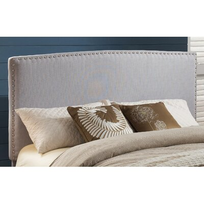 Harmonsburg Upholstered Panel Headboard Size: Full / Queen, Upholstery: Taupe