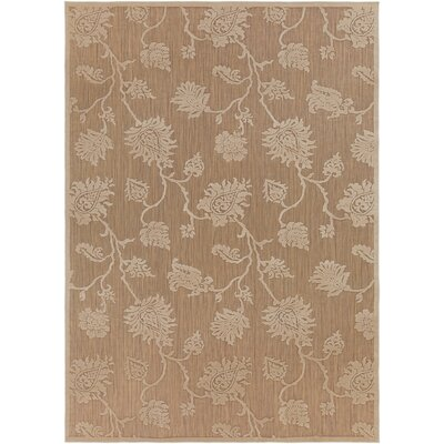 Gaither Khaki Outdoor Area Rug Rug Size: Rectangle 710 x 108