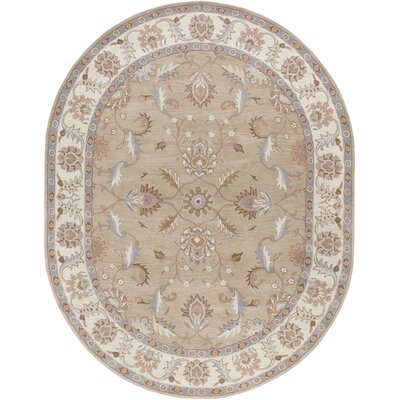 Waterston Papyrus Area Rug Rug Size: Oval 6 x 9