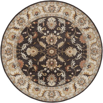 Waterston Brindle Area Rug Rug Size: Round 8