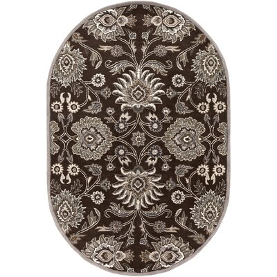 McLoon Oyster Gray Area Rug Rug Size: Rectangle 76 x 96