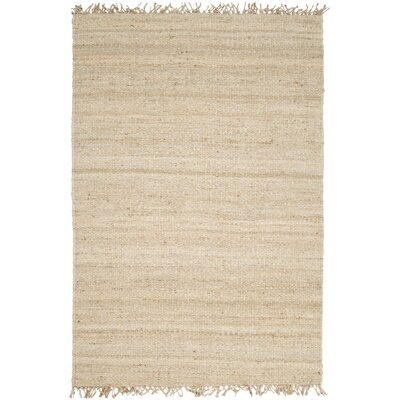 Grogan Hand-Woven Brown Area Rug Rug Size: Round 8