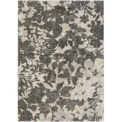 Cary Gray Area Rug Rug Size: Rectangle 52 x 76