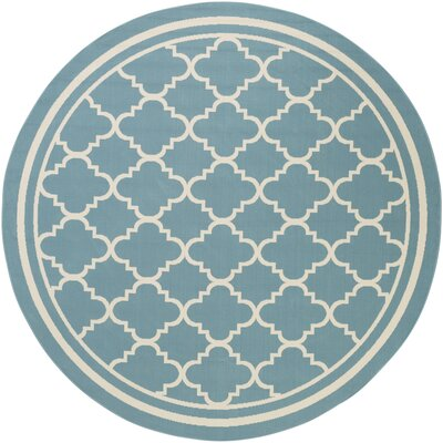 Osage Slate Indoor/Outdoor Area Rug Rug Size: Round 710