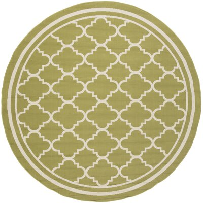Osage Indoor/Outdoor Area Rug Rug Size: Round 710