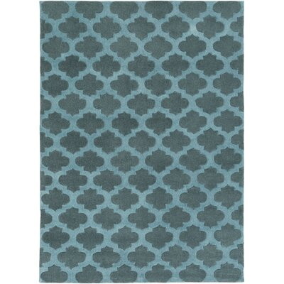 Windsor Teal Rug Rug Size: Rectangle 8 x 11