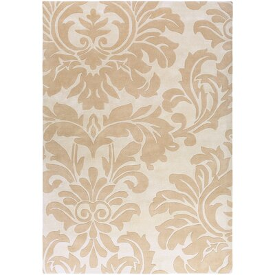 Millwood Light Gray/Taupe Area Rug Rug Size: Rectangle 4 x 6