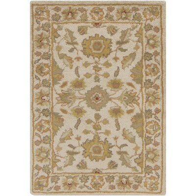 Stanford Beige Rug Rug Size: Rectangle 4 x 6