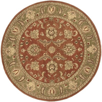 Stanford Dark Rust Rug Rug Size: Rectangle 6 x 9