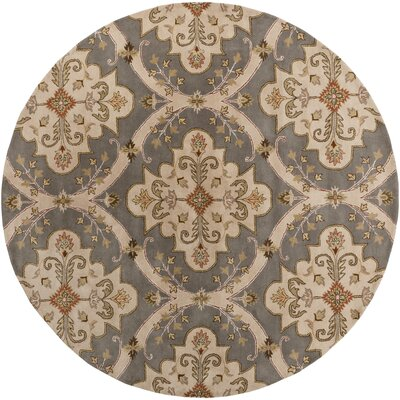 Stanford Gray Rug Rug Size: Round 8'