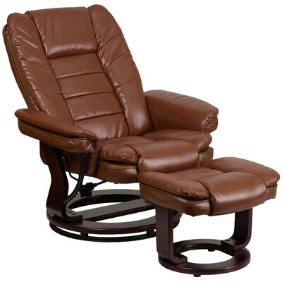 Albury Recliner and Ottoman