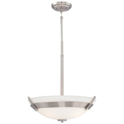 Ruben 3-Light Bowl Pendant
