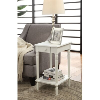 Carlisle End Table Finish: White