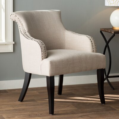 Limewood Hill Barrel Chair Upholstery: Light Beige