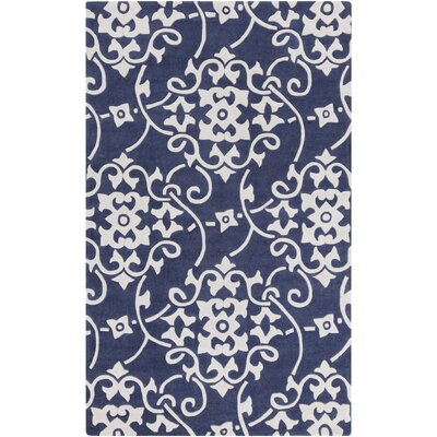 Shauna Blue Rug Rug Size: Rectangle 2 x 3