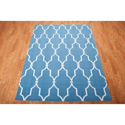 Wright Navy Indoor/Outdoor Area Rug