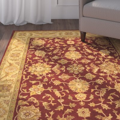 Dunbar Red/Gold Area Rug