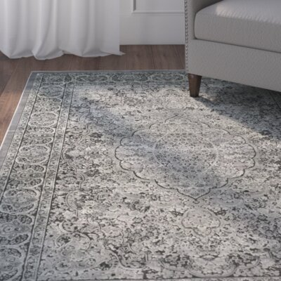 Patrick Light Gray/Anthracite Area Rug