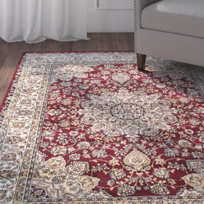 Petronella Red/Ivory Area Rug