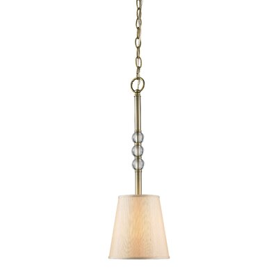 Raposo 1-Light Mini Pendant Shade Color: Parchment