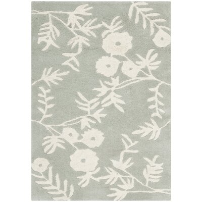 Alvan Gray Rug Rug Size: Rectangle 2 x 3