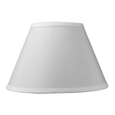 Modern Classics 12 Linen Empire Lamp Shade Color: White